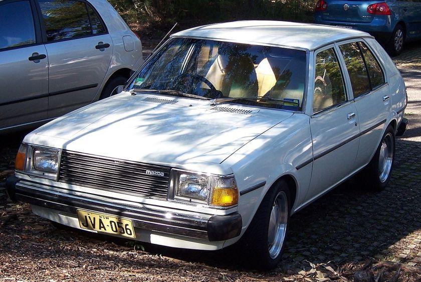 1979-1980 Mazda 323 (FA4TS) 1.4 hatchback