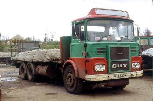 1979 Black Country Guy Big J6 GEA 320N