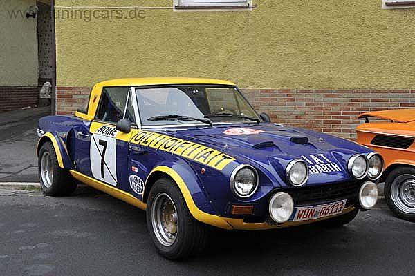 1979 Fiat Abarth 124 Rallye