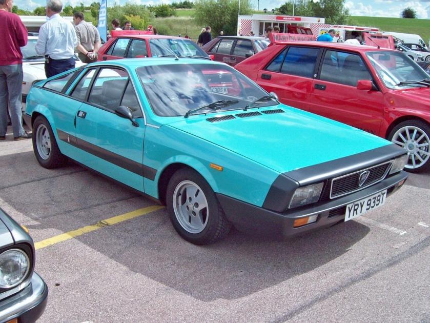1979 Lancia Montecarlo Engine 1995cc S4 YRY