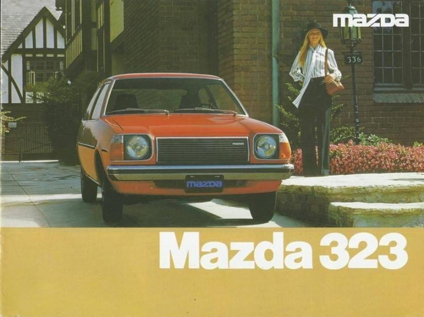 1979 Mazda 323 boekje