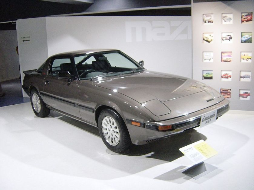 1979 Mazda RX-7 (first generation)Savannia