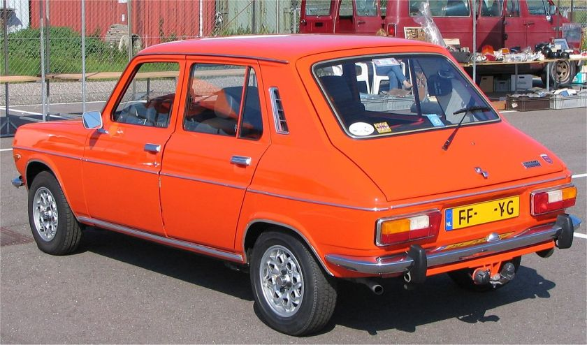 1979 Simca 1100 Special hatchback