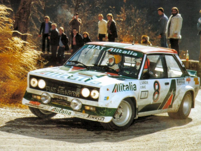 1980 Beautiful fiat abarth 131