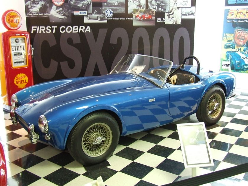 1980 CSX2000 – The first Cobra completed by Shelby