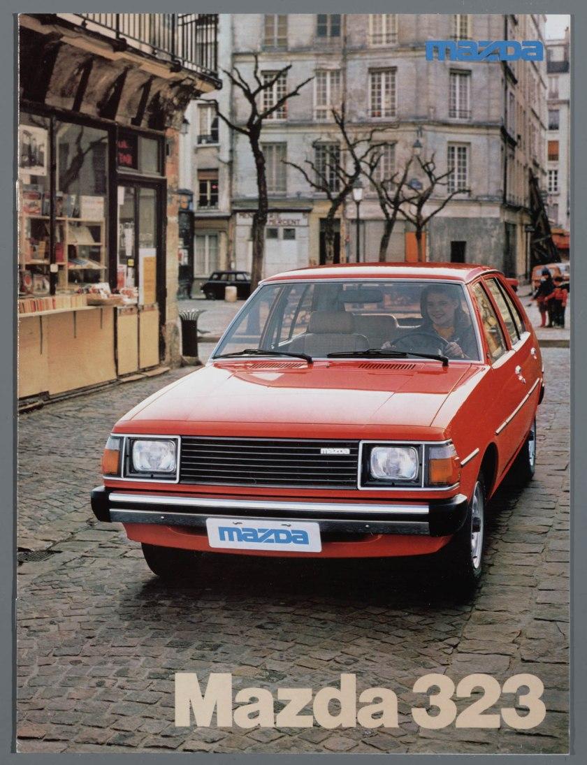 1980 Mazda 323 Oranje