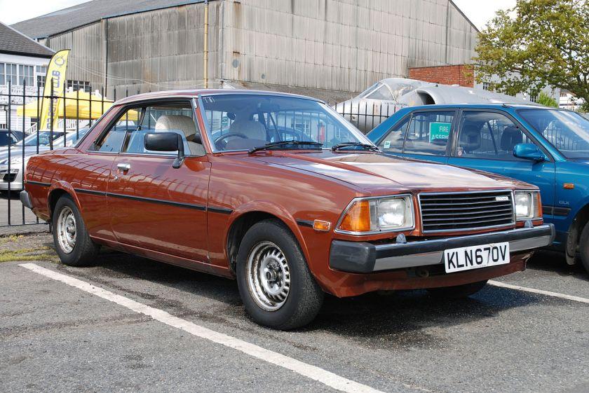 1980 Mazda Montrose Coupe 2.0 automatic