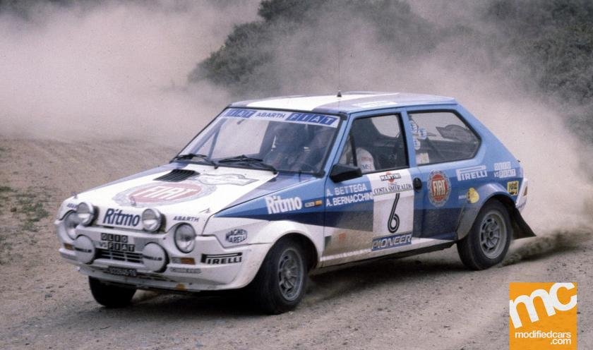 1981 Fiat Ritmo 75 Abarth Rally