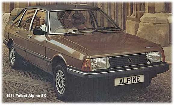 1981 talbot-alpine
