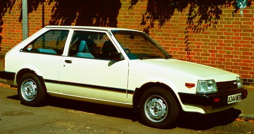 1982 Mazda 323 Hatchback