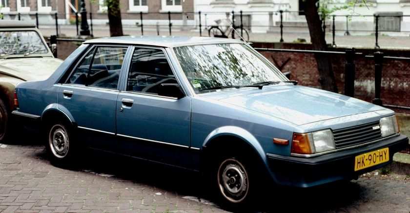 1982 Mazda 323 Notchback Pa