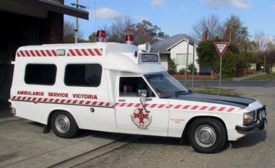 1982 WB Holden  Victoria Ambu service