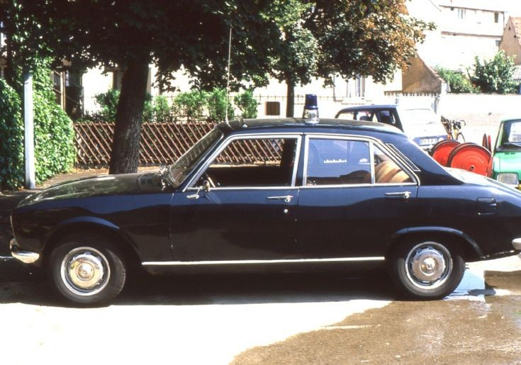 1983 Peugeot 504 Fire Chief Car