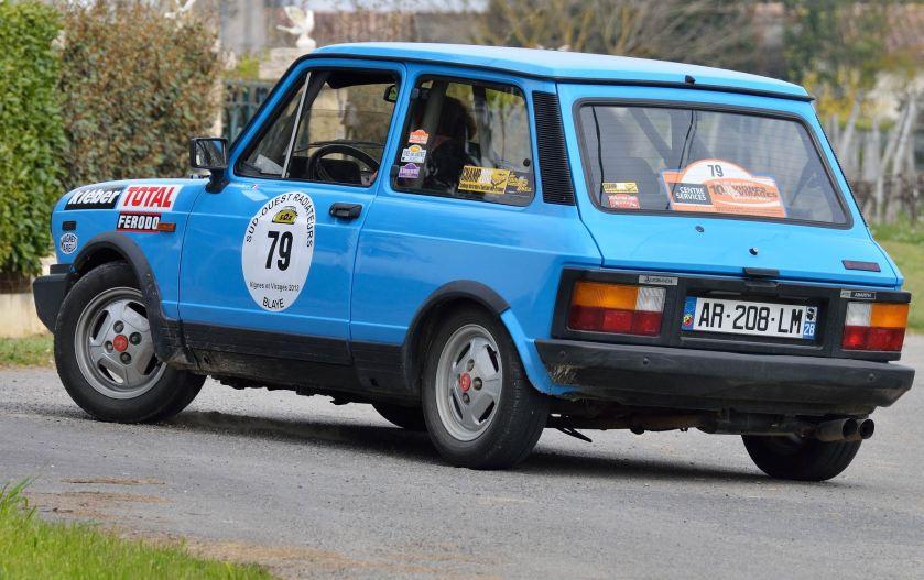 1984 Autobianchi A112 Abarth 1984