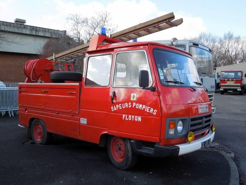 1984 PEUGEOT J9 Sapeurs-Pompiers Floyon