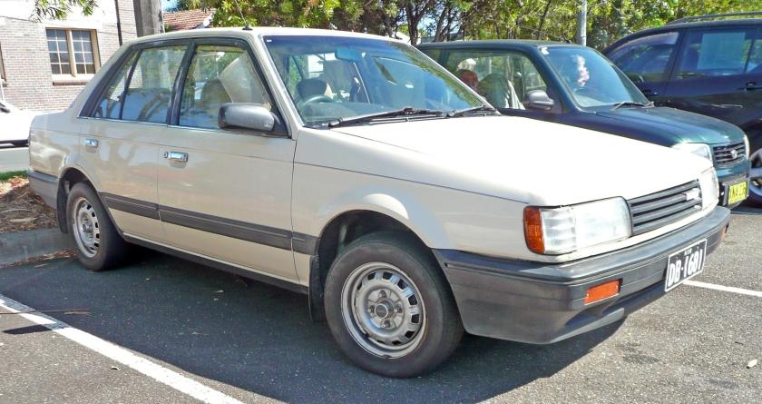 1985-87 Mazda 323 (BF)sedan