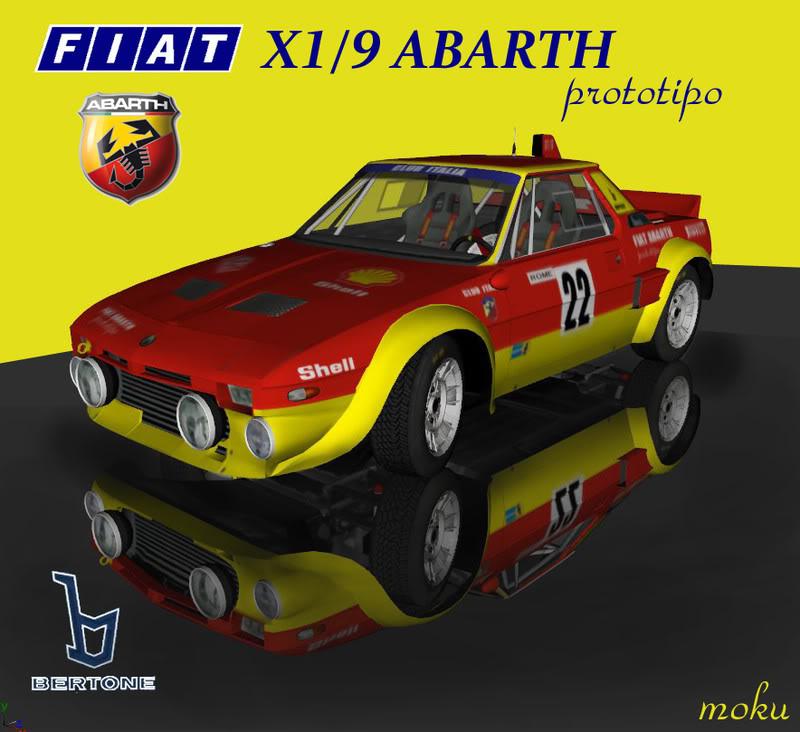 1986 fiat x19 abarth prototipo