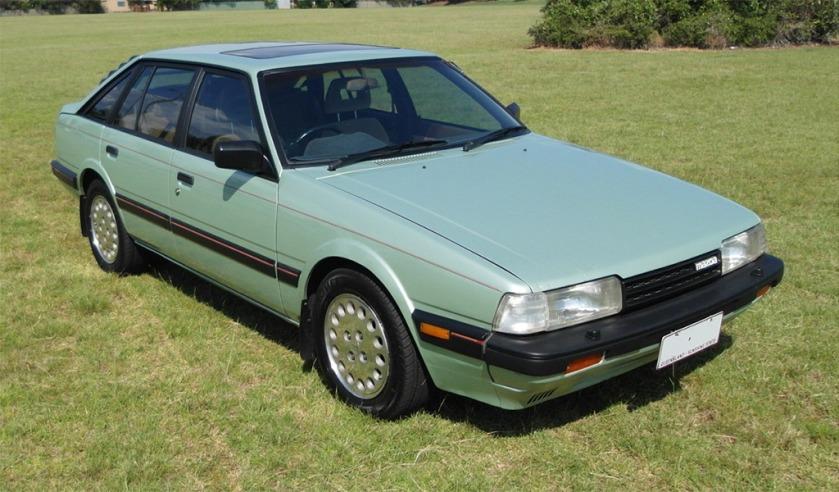 1986 Mazda 626 turbo