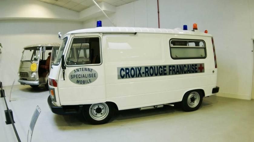 1986 Peugeot J9 Ambulance