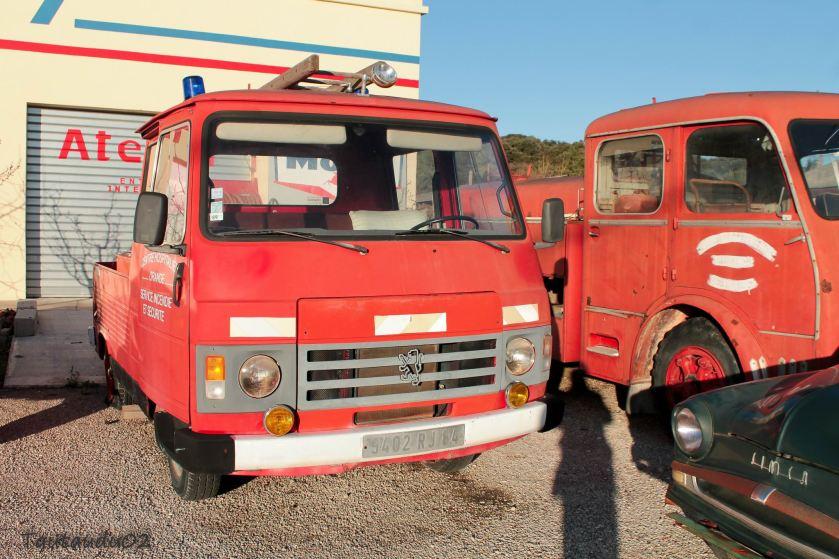 1986 Peugeot J9 Pompiers