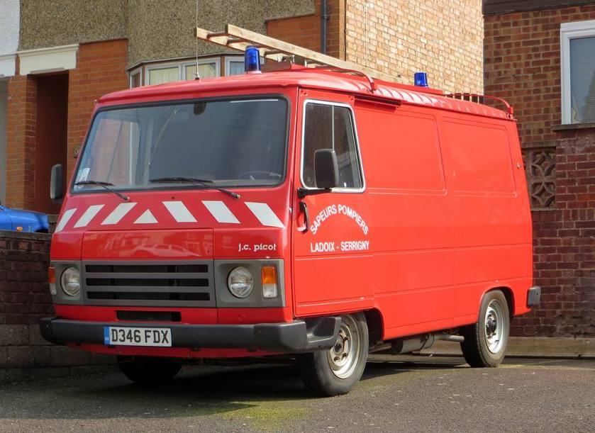 1986 Peugeot J9 Sapeurs Pompiers a
