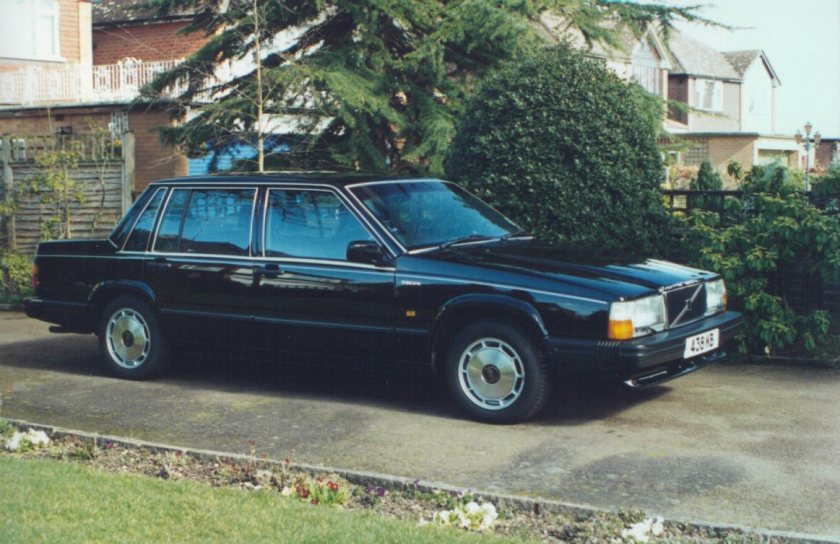 1987 1984-1992 Volvo 740GLE