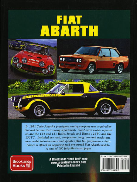1987 Abarth book