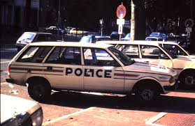 1987 Peugeot 305 Break, Police Nationale 1987, France