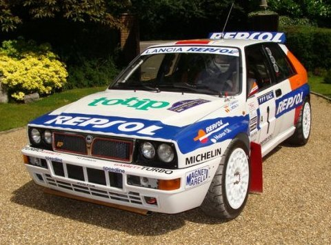 1988 Lancia Delta Grp A Abarth Integrale Rally Car