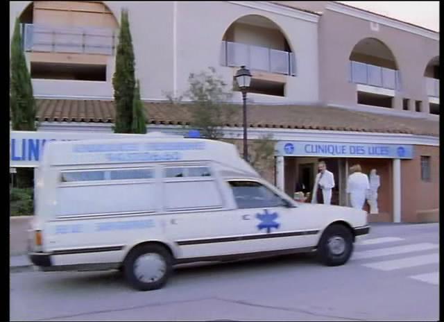 1988 Peugeot 505 Ambulance a