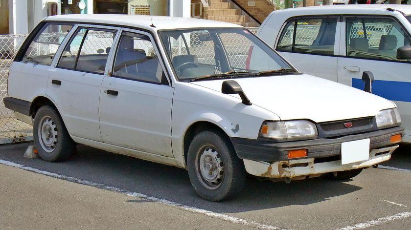 1989 Mazda Familia Van