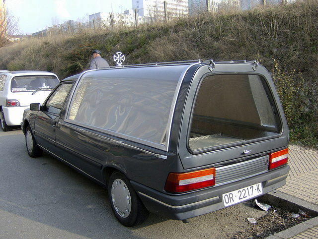 1989 Peugeot 309 Hearse a