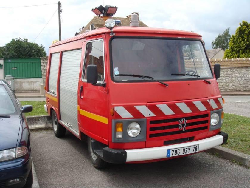1989 Peugeot J9 Pompiers
