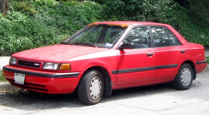 1990-92 Mazda Protege 323