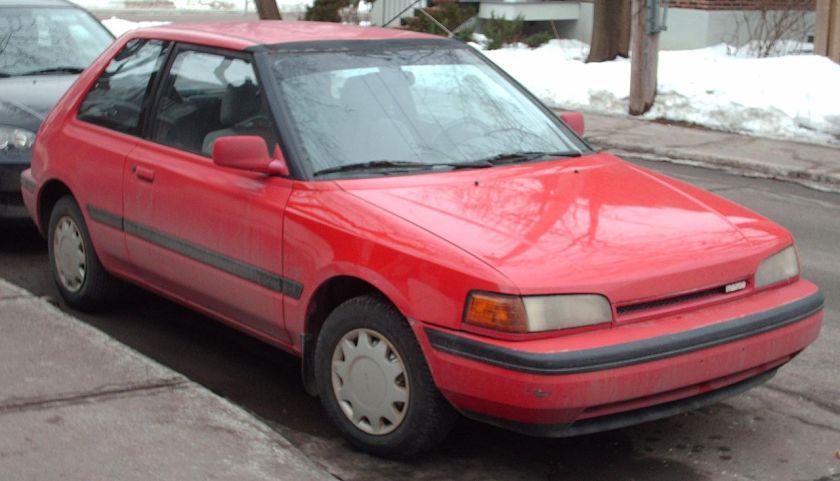 1990-'92_Mazda_323_Hatchback