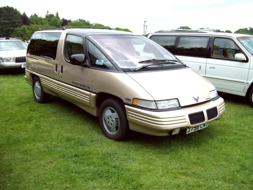 1990-99 Pontiac Trans-Sport SE Engine 3800 cc V6