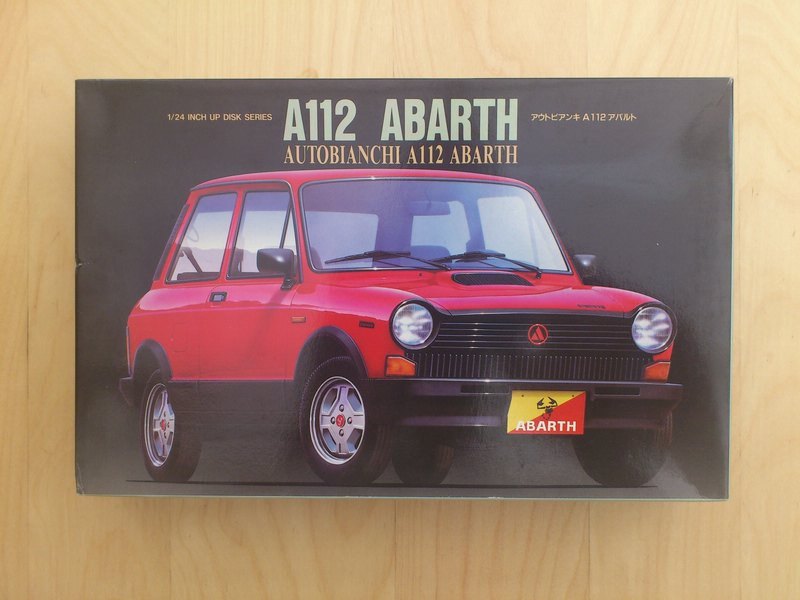 1990 Autobianchi A112 Abarth - Karton