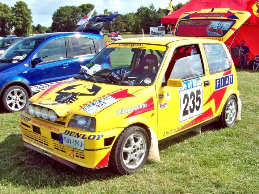 1992 401 Fiat Cinquento Abarth