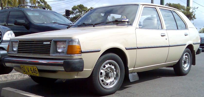 1992 Mazda 323 (FA4TS) 1.4 hatchback