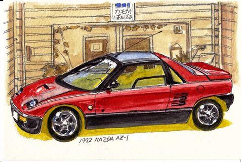 1992 Mazda AZ-1