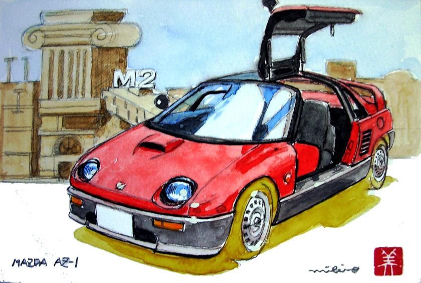 1992 Mazda AZ-1a