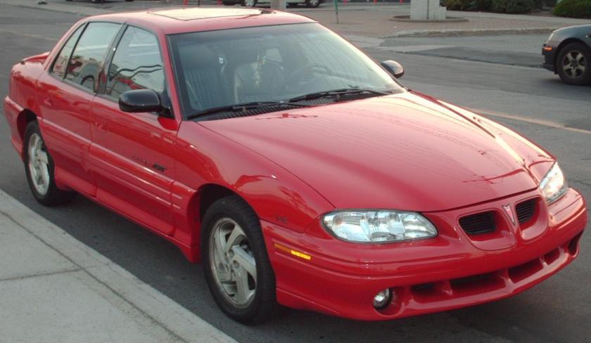 1996-98 Pontiac Grand Am GT Sedan