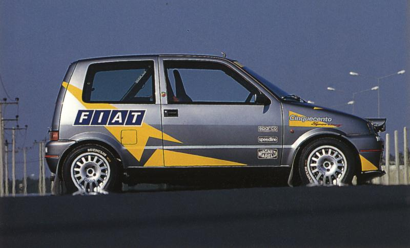 1996 Fiat Auto Hellas Sporting Abarth, at Rally ELPA 1996