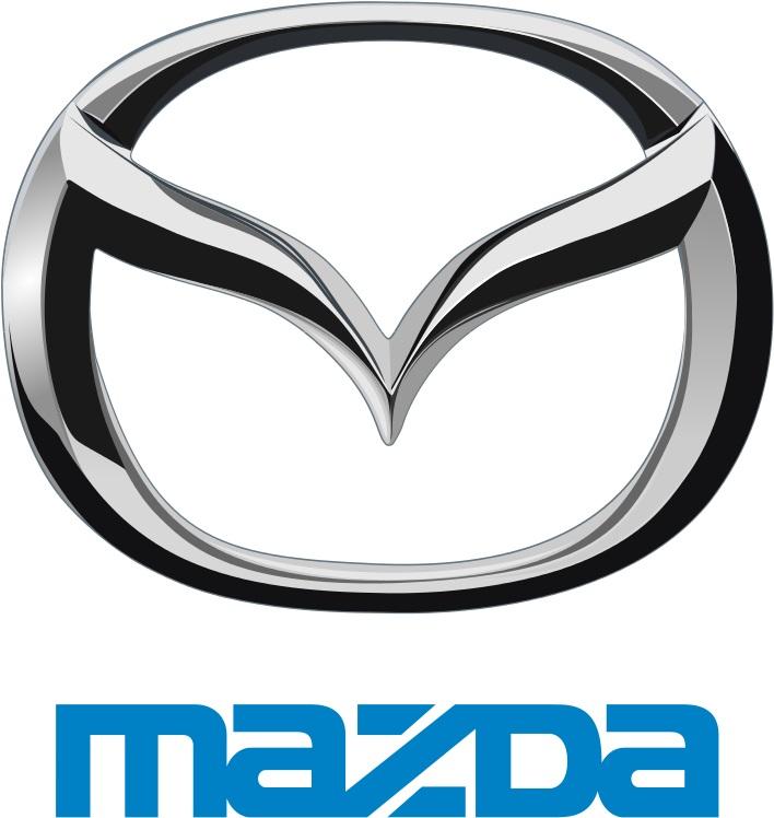 1997 Mazda logo with emblem