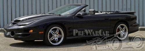 2000 Pontiac Trans Am Firebird WS.6 Convertible