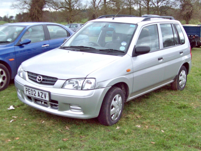 2002 Mazda Demio LXi Engine 1323 cc S4 of 82 bhp