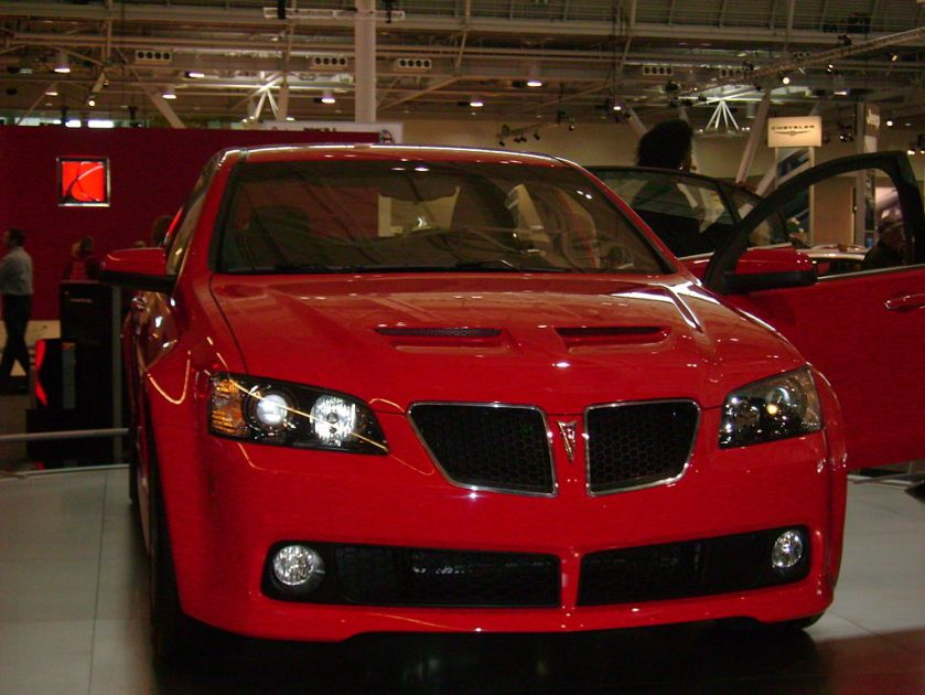 2008 Pontiac G8 New England