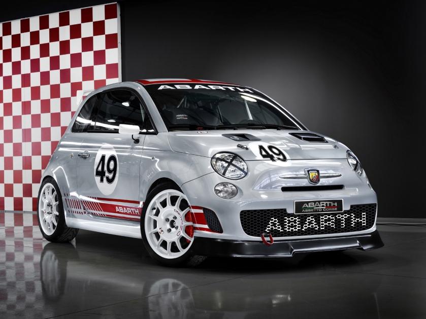 2008-pr Abarth 500 Assetto Corse
