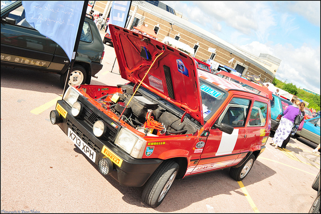 2010 Auto Italia 2010 Gaydon - Fiat Panda Abarth
