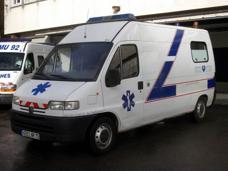 2010 Paris Peugeot Ambulance